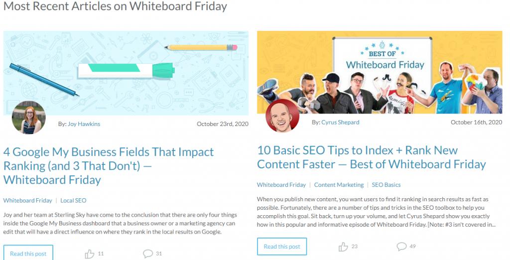 Content marketing voorbeeld