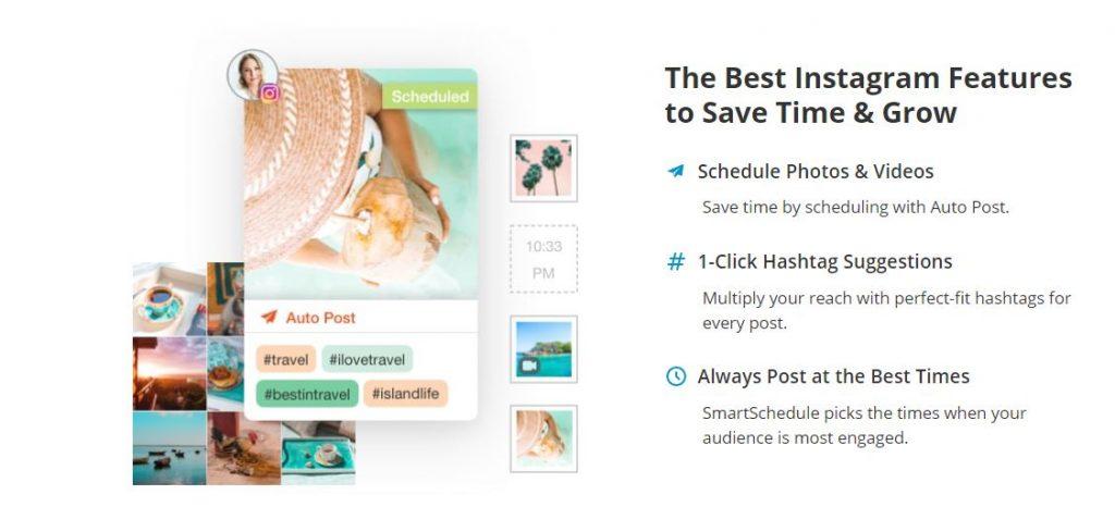Social media marketing tool Tailwind