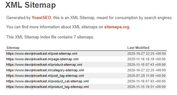 Verbeter je SEO door een XML-sitemap toe te voegen