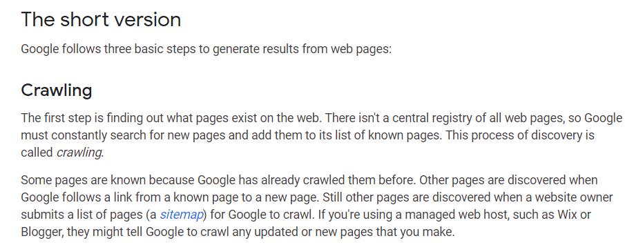 Interne links voor Google