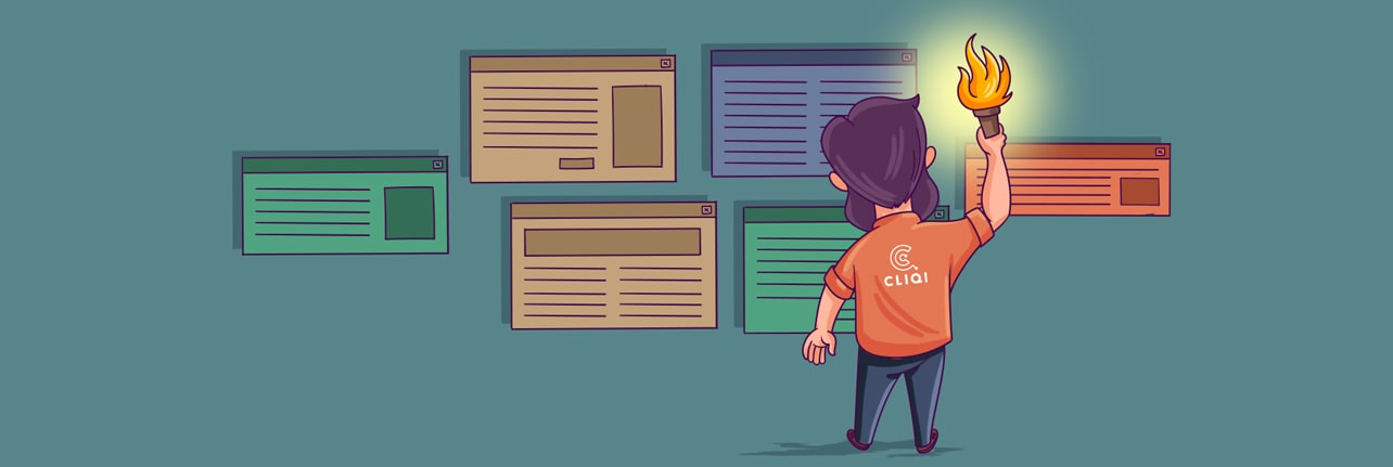 Responsive webdesign CliQi