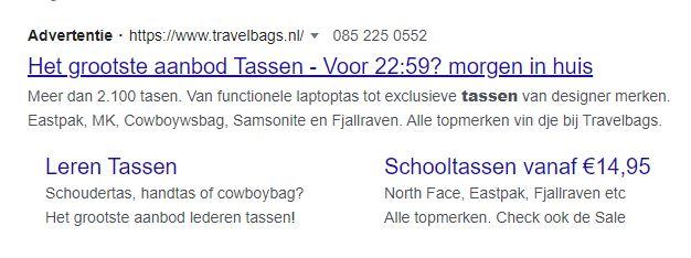 wat zijn zoekmachineadvertenties?